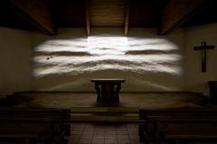 Lichtbildinstallation Pfarre Hagenberg 2